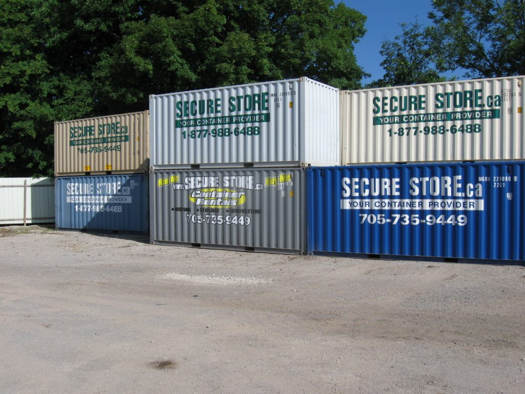 Rental containers 20' 003