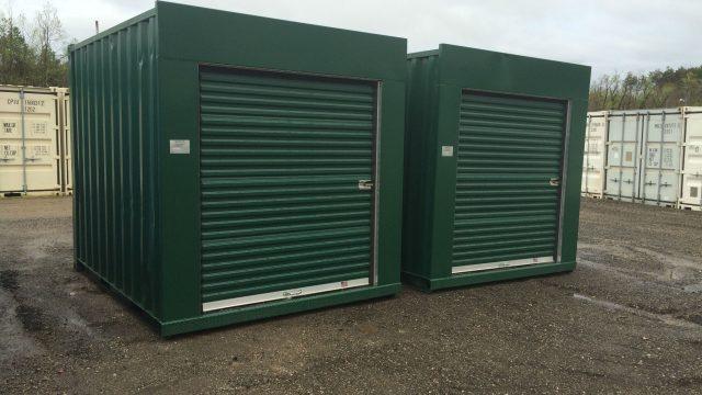 10′ Green with 6′ Doors